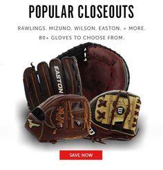 Closeout Baseball and Softball Gloves Fastpitch Softball Gloves, Baseball Gloves, Don't Forget, Popular, Free Shipping, Big, Popular Pins, Most Popular