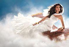 Vestidos de noiva inspirados nas princesas da Disney!