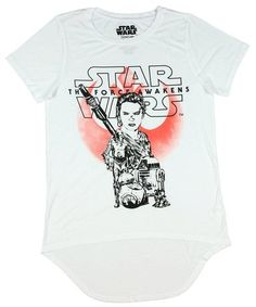 The Force Awakens Clothing Star Wars: The Force Awakens Rey Group Girls Hi-Lo Top