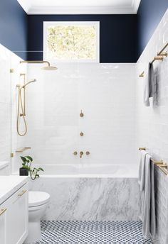 If always believed that freestanding bathtubs are the height of luxury: think again. This gallery of inspiring inset bathtub design ideas wi. 20 inset bathtub design ideas that steal the spotlight, Diy Bathroom, Bathroom Renos, Modern Bathroom, Master Bathroom, Bathroom Styling, Bathroom Marble, Bathroom Cabinets, Mosaic Bathroom, Blue Bathroom Tiles