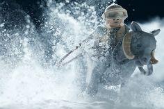 Finnish photographer Vesa Lehtimäki, also known as Avanaut, creates and photographs amazing Star Wars scenes using LEGO bricks and minifigs....