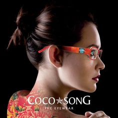 Coco Song eyewear is an outstanding eyewear brand that reaches it's destination by creating incredible frames with amazing materials and vision. High fashion for your eyes made with such interestin...