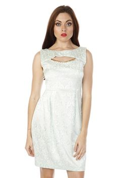 Textured Tulip Dress via Amazing Fashion!. Click on the image to see more! Tulip Dress, Tulips, White Dress, Formal Dresses, Amazing, Image, Fashion, Dresses For Formal, Moda