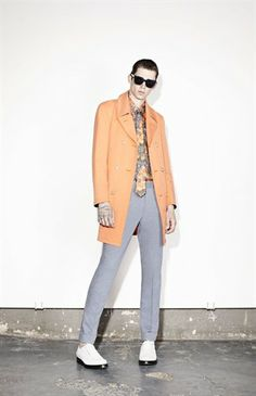 #Cole #Mohr Lookbook/Marc Jacobs Collection/Mens Ready to Wear SS2014 source: marcjacobs.com