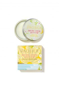 Malibu Lemon Blossom Solid Perfume   Pacifica Perfume