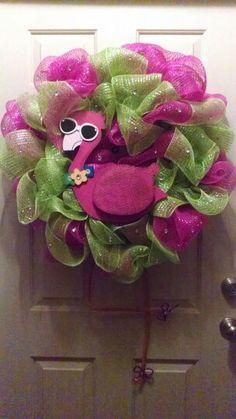 NMCreations, Flamingo Wreath