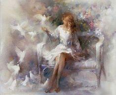 Willem Haenraets ~ The Impressionist lovers