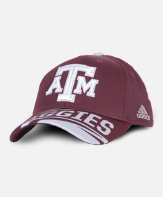 8d99005b3a2 Texas A amp M Aggies Hat by Adidas  AggieGifts  Aggiestyle Maroon  Background