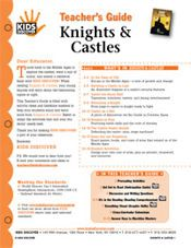 FREE, 12-page printable Lesson Plan for Kids Discover Knights & Castles!