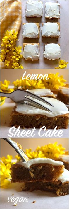 This is the perfect recipe if you want something else than normal boring chocolate cakes. This lemon cake is really refreshing, vegan and healthy too - the perfect cake for spring!