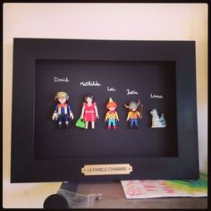 A family photo Playmobil . - photoPlaymobil- A family photo Playmobil … – photoPlaymobil Cool Diy, Easy Diy, Diy Tumblr, Diy For Kids, Crafts For Kids, Diy And Crafts, Projects To Try, Crafty, Decoration