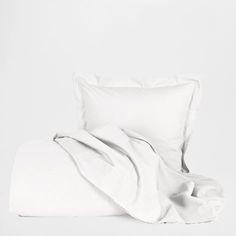 Basic White Percale Bed Linen - Bedroom - Essentials | Zara Home United Kingdom