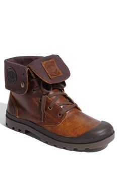 Palladium 'Baggy' Leather Roll Down Boot | Nordstrom
