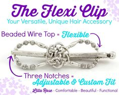 All about the Lilla Rose flexi clip! No wonder they are so flexible and sturdy! http://lillarose.biz/rrobinson