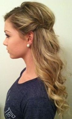Curly Updo with a Bouffant mother of the bride hairstyles