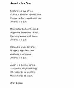 America is a Gun