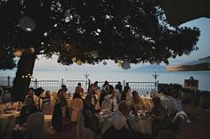 Destination wedding reception- Sorrento, Italy