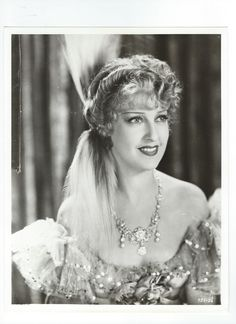 Original, vintage photos of Jeanette MacDonald from The Merry Widow (1934) - ESCANO COLLECTION