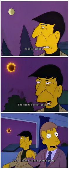 Leonard Nimoy on the Simpsons