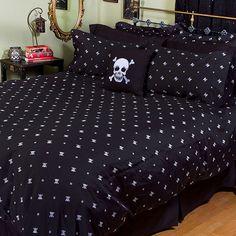 Skull & Crossbones Bedding