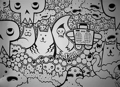 another marker wall mural i like