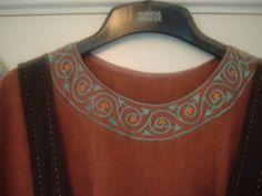 Viking Dress Collar Detail | Flickr - Photo Sharing!
