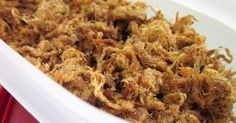 No-Frills Recipes ... cooking, baking & excerpts on travel: Pork Floss