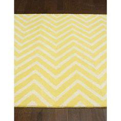 nuLOOM Handmade Vertical Chevron Wool Rug (7'6 x 9'6) | Overstock.com Shopping - The Best Deals on 7x9 - 10x14 Rugs