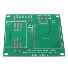 DIY M590E GSM GPRS Communication Module Kit Dual Band 900/1800MHZ 85.6 Kbit/s 900m-1800m For Arduino 	Features: 	1. This module is a standard AT instruction set 	2. Support 900M-1800M, GSM frequency band 	3. Can be connected: MCU for TTL 	4. GPRS class 10: Max. 85.6 Kbit/s (DL) 	5. Coding...