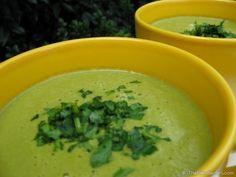 Vegan Cream Of Spinach Soup