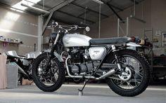 HONDA CB350 'THE DARK ANGEL' ~ PACIFIC MOTORCYCLE CO ~ INAZUMA