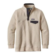 Patagonia Women's Cotton Quilt Snap-T Pullover- Toasted White