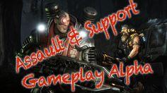 Evolve Alpha. Clases Support y Assault Comentado Español HD