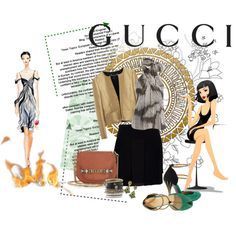 The devil might wear Prada..but she's no match 4 my Gucci....., created by lindagama on Polyvore
