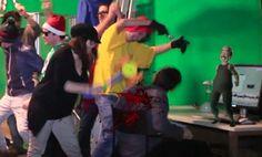 El pasado jueves 21 de febrero los alumnos y profesores de Trazos se juntaron para grabar nuestra propia versión del Harlem Shake. Durante la grabación tuvimos la suerte de poder integrar un muñeco diseñado en 3D y de añadir efectos visuales. Para ver el video, clica en el enlace.