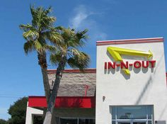 Most In-N-Out's have a pair of crossed palm trees out front, because the founder got the idea from the film It's a Mad, Mad, Mad, Mad World ...