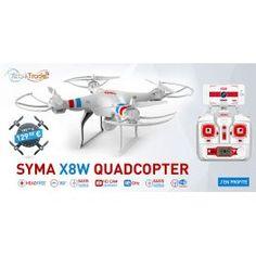 Drône Quadricoptère SYMA X8Wifi 2.4G 4 canaux avec Gyro + camera hd