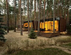 Into The Woods: Studio YOD Lab's Verholy Guest Houses