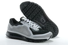 c6cca1bbe85f 2014 Noir Gris Hommes Nike Air Max 2014 Nike Shoes Cheap, Cheap Nike Air Max