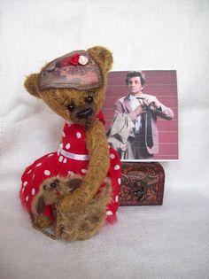 Paní Columbová Panama, Bears, Teddy Bear, Toys, Animals, Animales, Panama Hat, Animaux, Animais