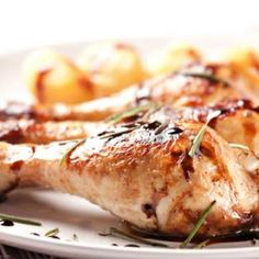 Hot BBQ Chicken Legs