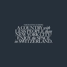 Fascinating Europe   #FunFact #Zurich #happymonday