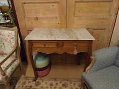 BarnAntique.co.uk :: French Marble Topped Washstand