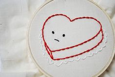 lonely heart by wildolive, cute patterns