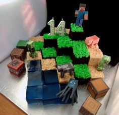 minecraft cupcake fondant ideas | Collection of the best Minecraft cake recipes and ideas ~ FPSXGames