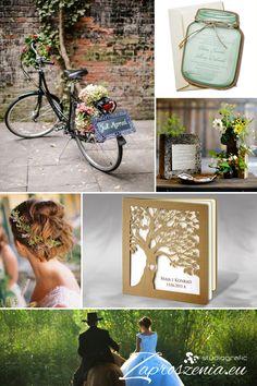 Eko ślub w pięknym stylu, niepowtarzalne ekologiczne zaproszenia ślubne dostępne na zaproszenia.eu