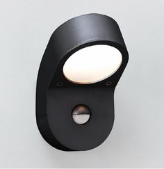 Soprano Black Outdoor Wall Light with PIR, Astro Lighting 0676 Soprano Lamp with PIR sensor, @astrolighting 0676 via Sparks Direct