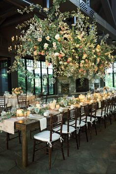 This gorgeous southern wedding in the mountains of North Carolina features a luxe tented ceremony and a lush floral wedding arch made up of white hydrangeas, peonies and garden roses. Also their sweet dog makes an appearance so you know we are in love! Alabama Wedding Venues, Luxury Wedding Venues, Outdoor Wedding Venues, Wedding Reception, Wedding Aisles, Arch Wedding, Wedding Greenery, Wedding Backdrops, Wedding Backyard