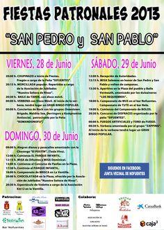 28-30 de Junio. Fiestas Patronales. Nofuentes  Merindades