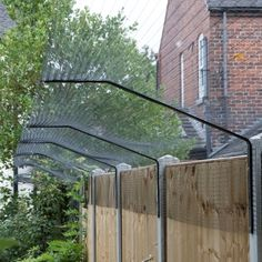 Pet Fencing Solutions: Cat Fence, Cat Enclosure, Catio, Cat Run Dog Proof Fence, Cat Fence, Patio, Backyard, Outside Cat Enclosure, Cat Ideas, Dog Barrier, Cat Run, Cat Playground